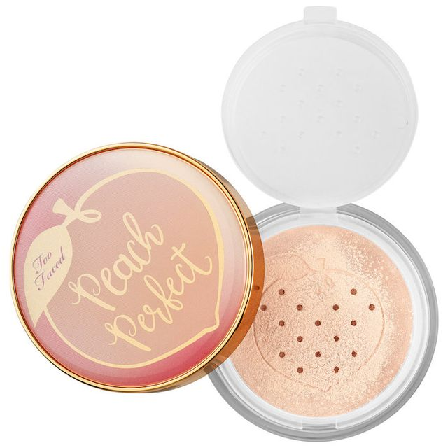 Peach Perfect Mattifying Setting Powder - Peaches and Cream Collection Translucent Peach 1.23 oz/ 35 g