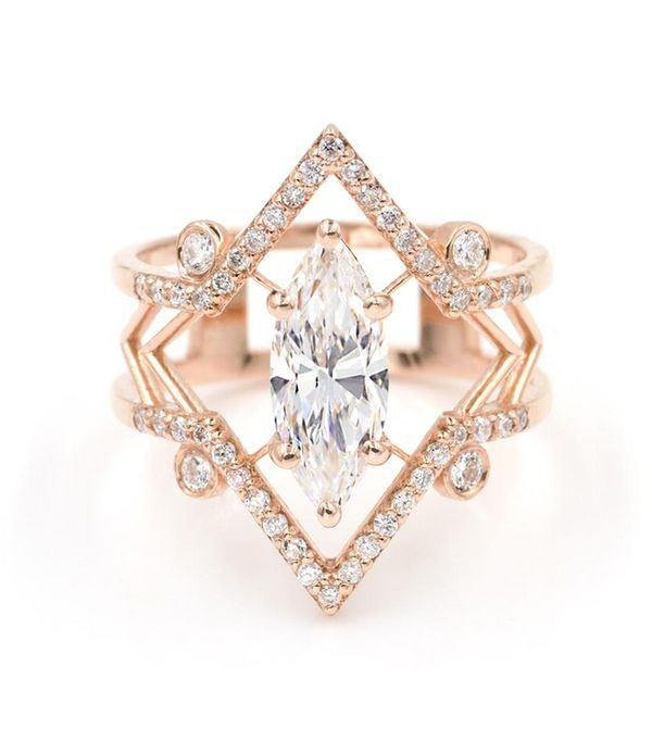 Giacomelli The Arrow Marquise Ring