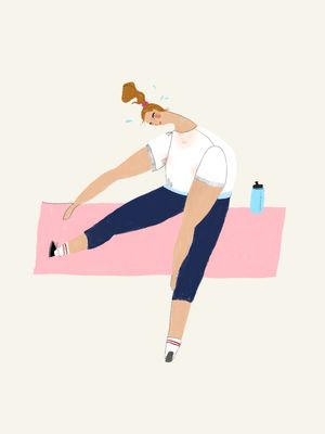 This Is Hands Down the Best Yoga Pose to Relieve Post-Holiday Tension