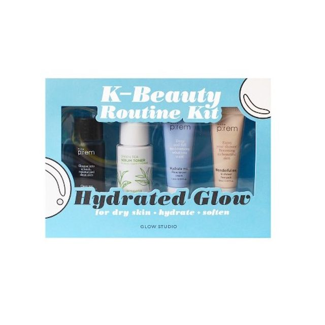 Glow Studio Hydrated Glow K-Beauty Routine Kit