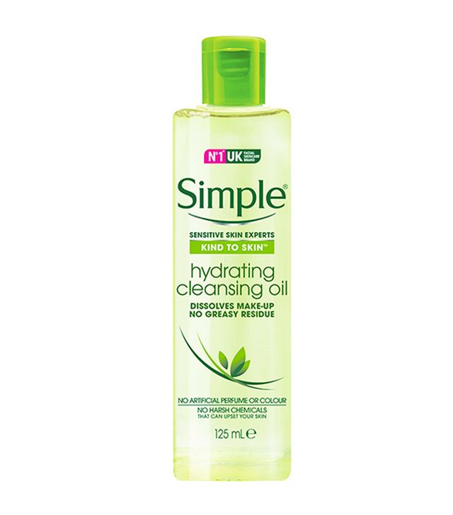 Best cleansing oil: Simple Hydrating Cleansing Oil