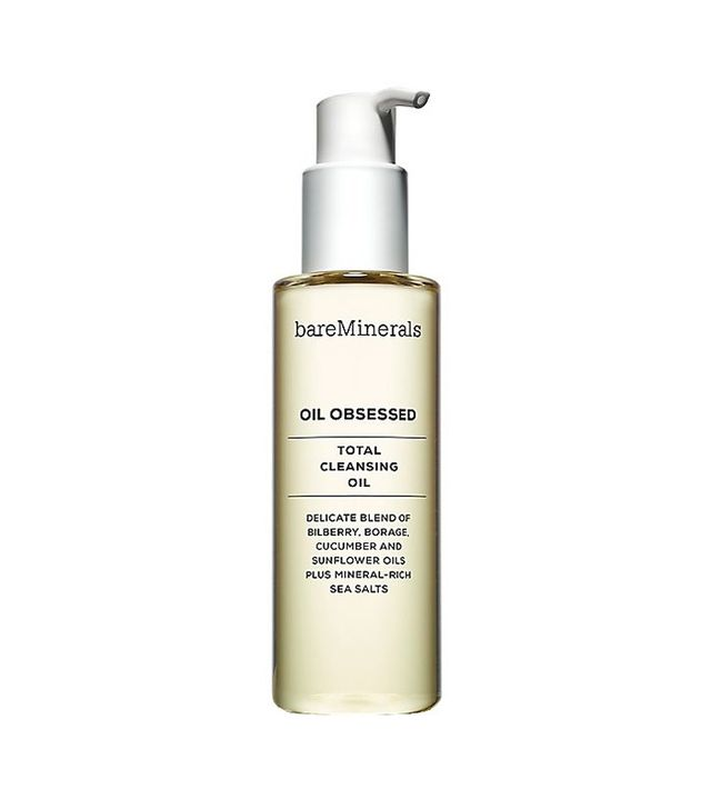 Best cleansing oil: bareMinerals OIL OBSESSED Total Cleansing Oil