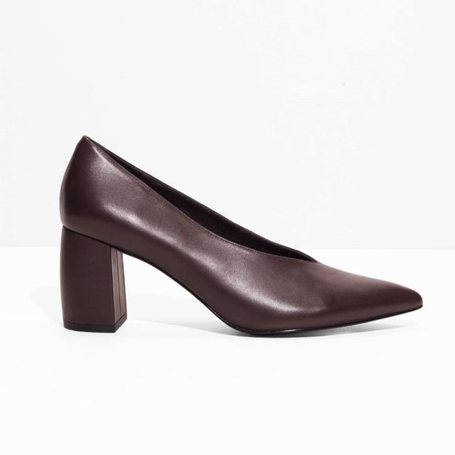 & Other Stories Leather Pumps