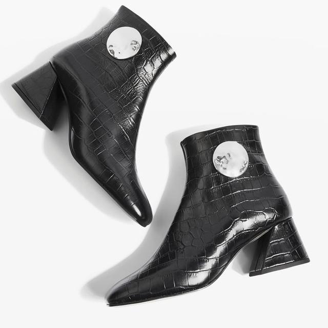 Topshop Money Ankle Boots