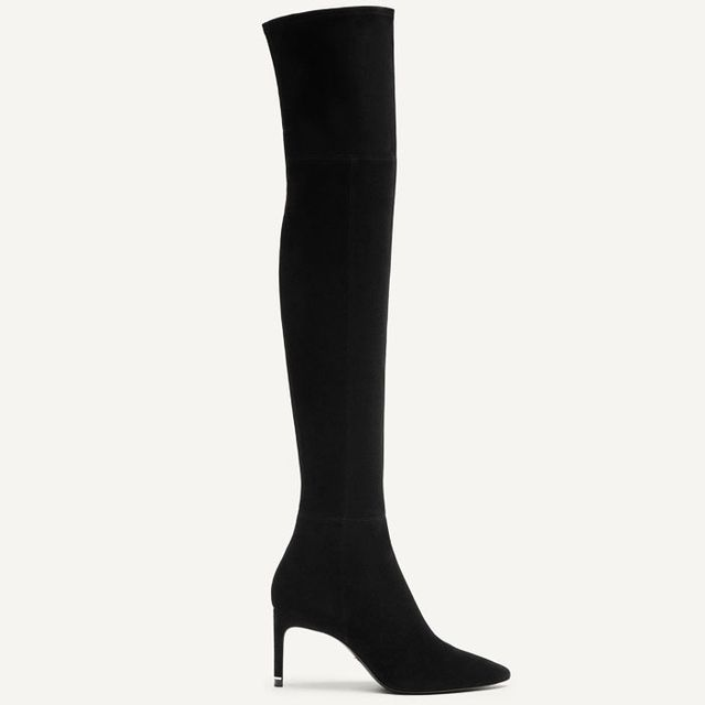 Massimo Dutti Suede Leather Boots