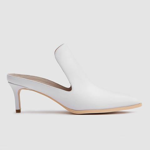 Fran Mule in White