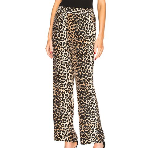 Fayette Silk Pants