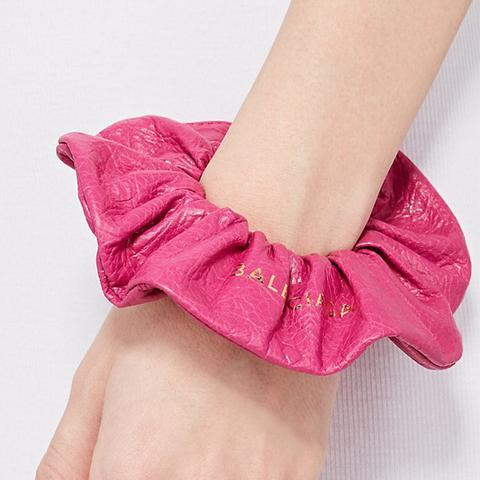 Arena Leather Chouchou Bracelet