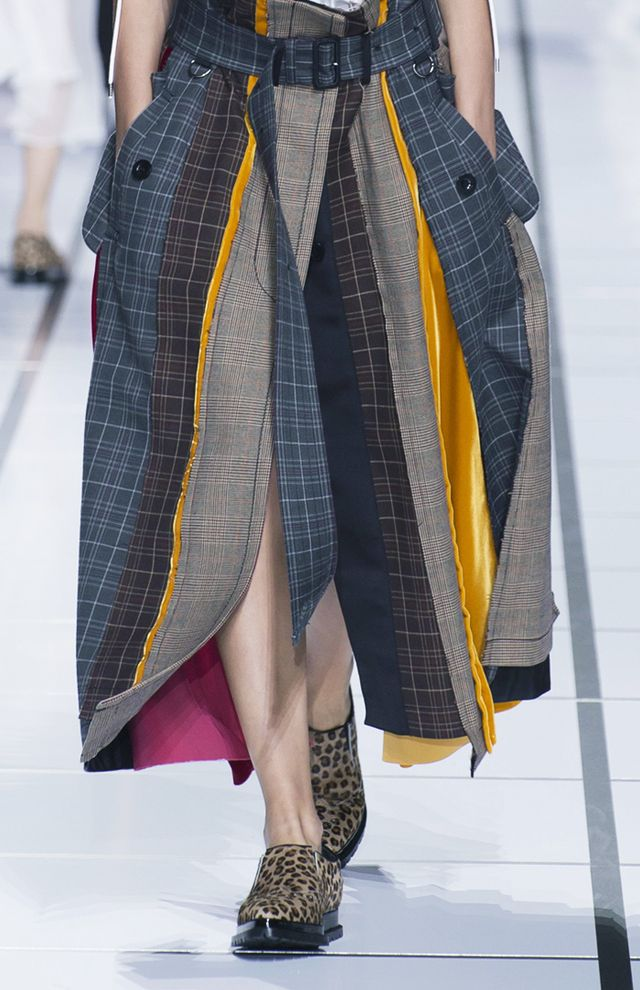 Deconstructed fashion trend: Sacai