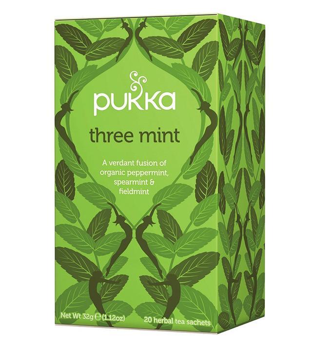 Natural remedies for period pain: Pukka Three Mint Tea