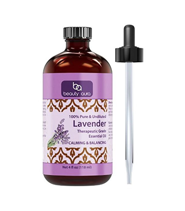 Natural remedies for period pain: Beauty Aura 100% Pure Lavender Essential Oil