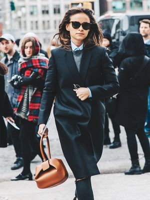 The Styling Trick Every Fashion Girl Wears at Work