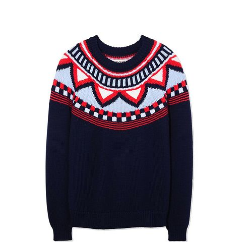 Performance Merino Fair Isle Sweater