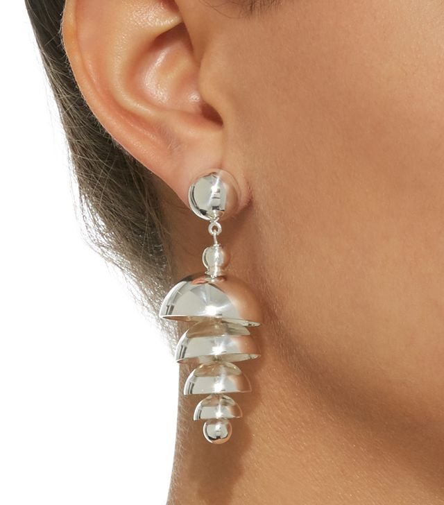 Bell Sterling Silver Earrings