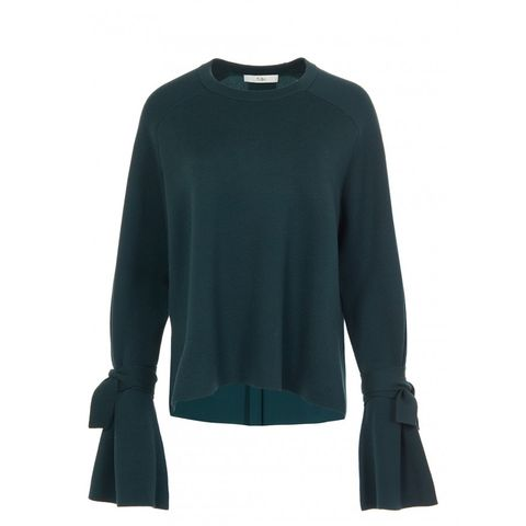 Merino Wool Silk Combo Sweater