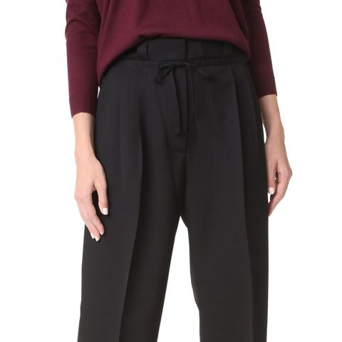 Tien Structured Wool Pants
