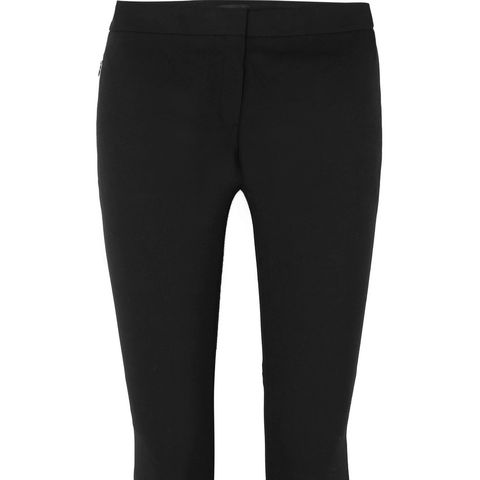 Stretch Cotton-blend Flared Pants