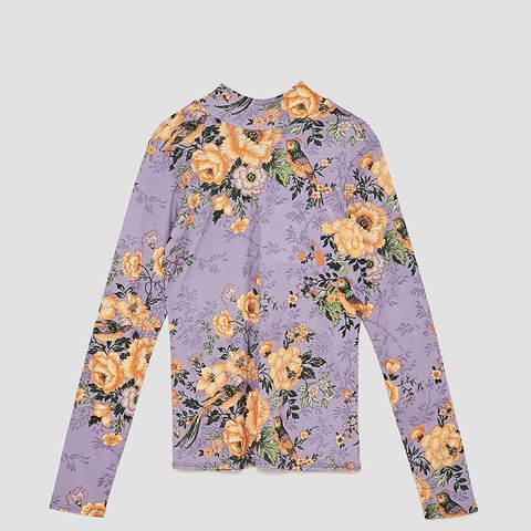 Floral Bow T-Shirt
