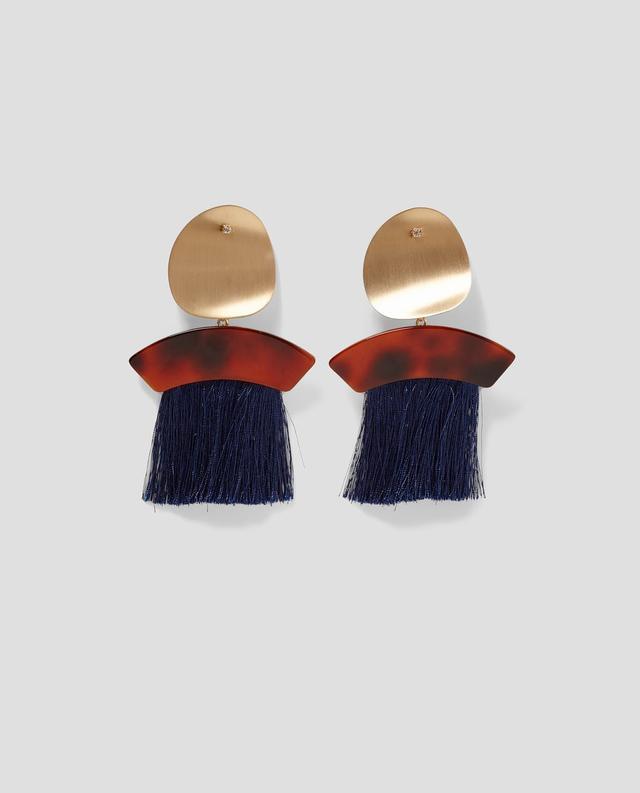 Zara Earrings with Fringe