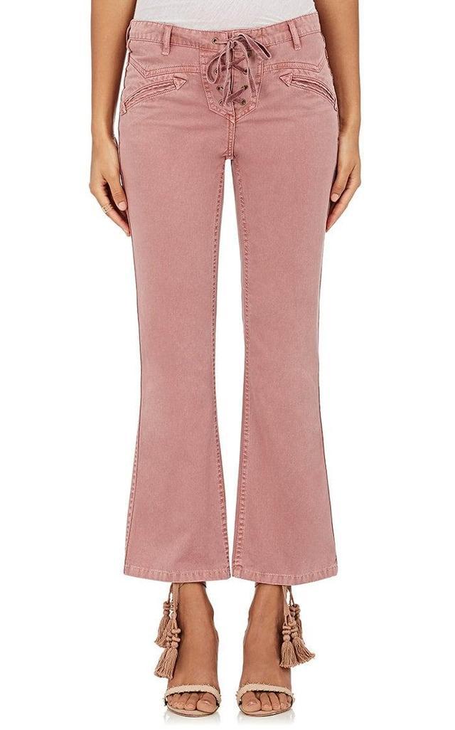 Women's Patria Lace-Up Jeans