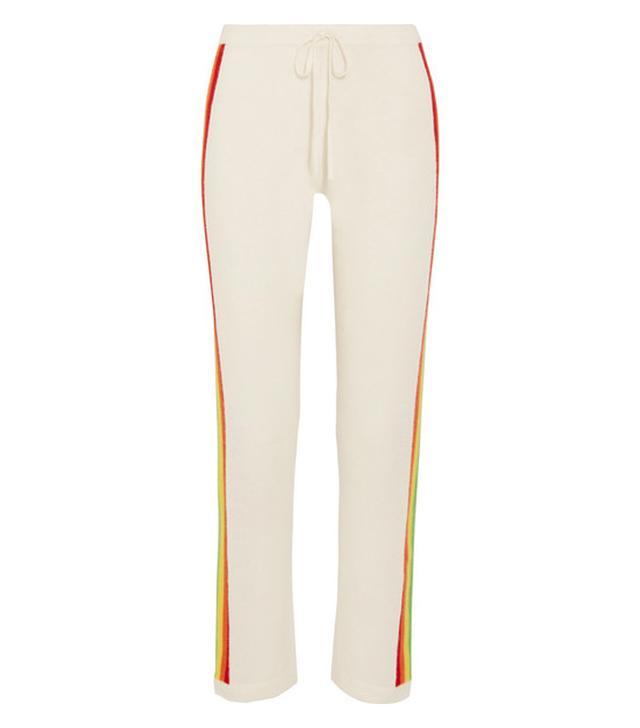Madeleine Thompson Rainbow Cashmere Track Pants