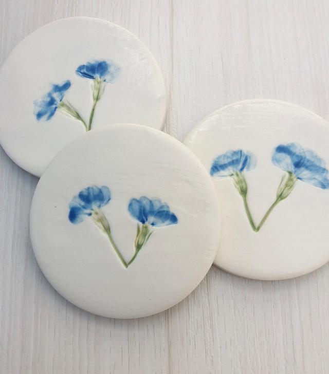 Melissa Ceramics Ceramic Coasters (Set of 4)