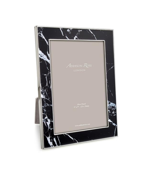 Addison Ross Black Marble Enameled Frame