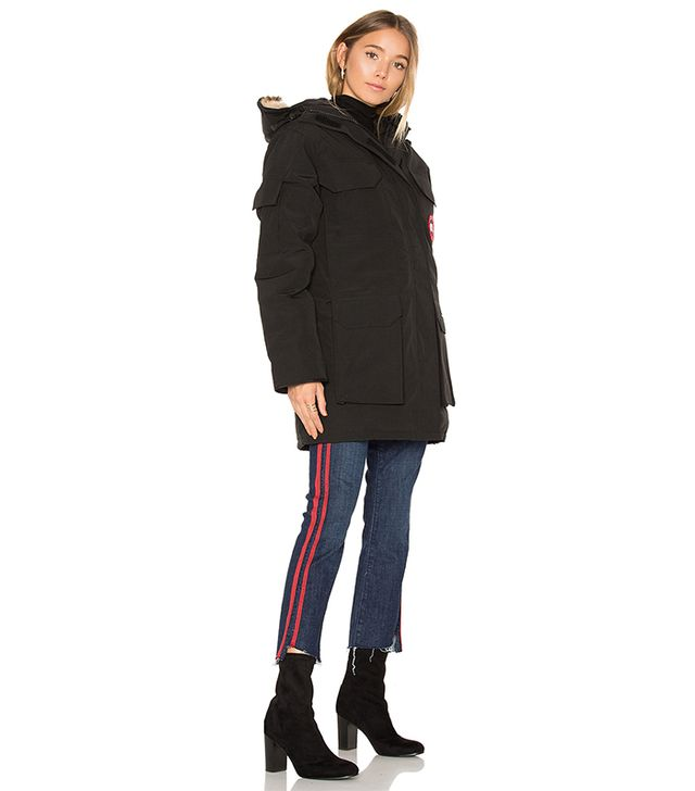 Expedition Parka with Coyote Fur Trim
