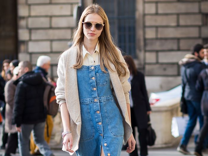 Yes, You Can Pull Off an Overall Dress