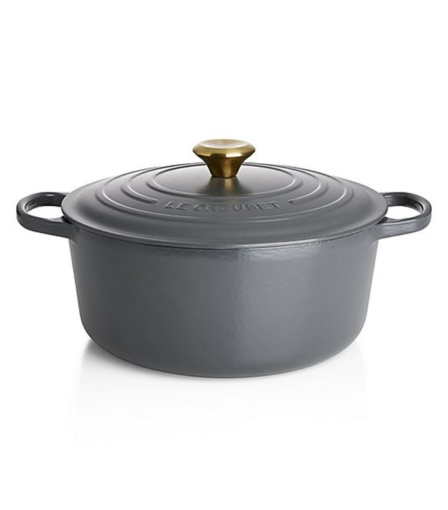 Le Creuset Signature Graphite Grey Round French Oven
