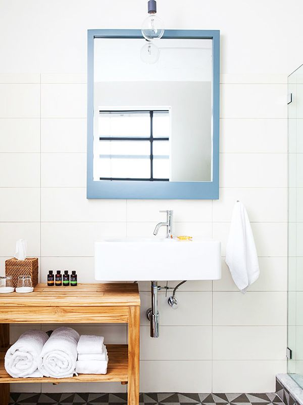 mirros hang a bathroom ideas mirror frameless
