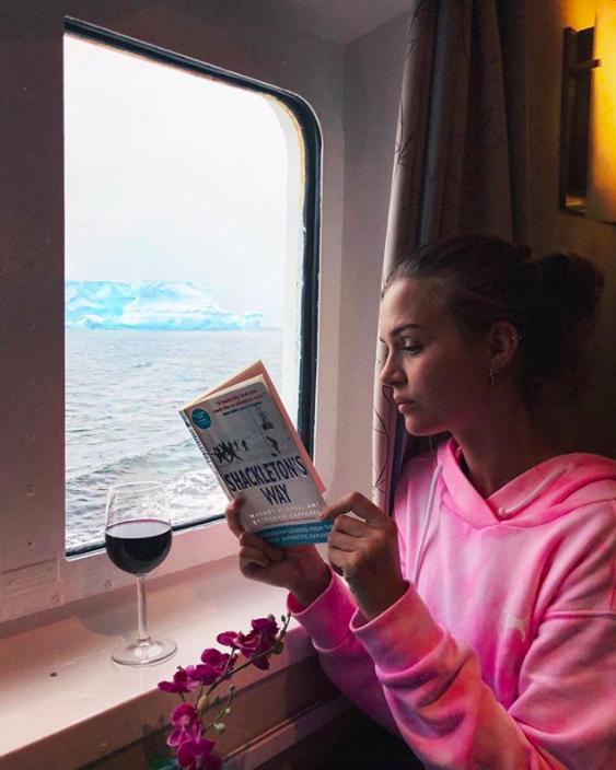 Josephine Skriver Antarctica Trip Photos
