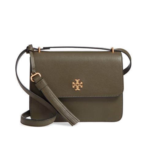 Brooke Leather Crossbody Bag