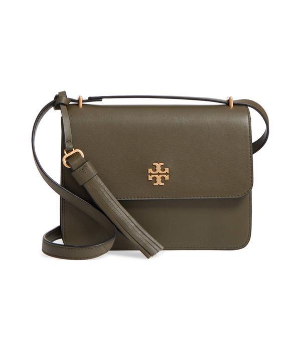 Brooke Leather Crossbody Bag -
