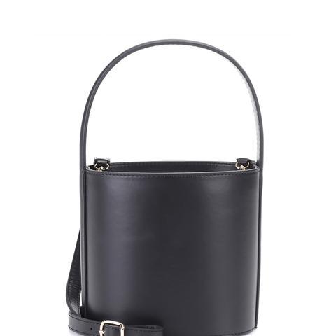 Bisset Leather Bucket Bag