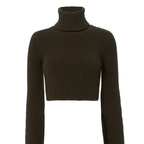 On Duty Irvyn Cropped Sweater