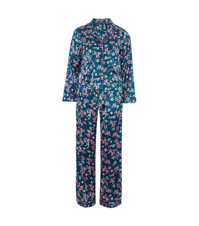 Bird Satin Pajamas