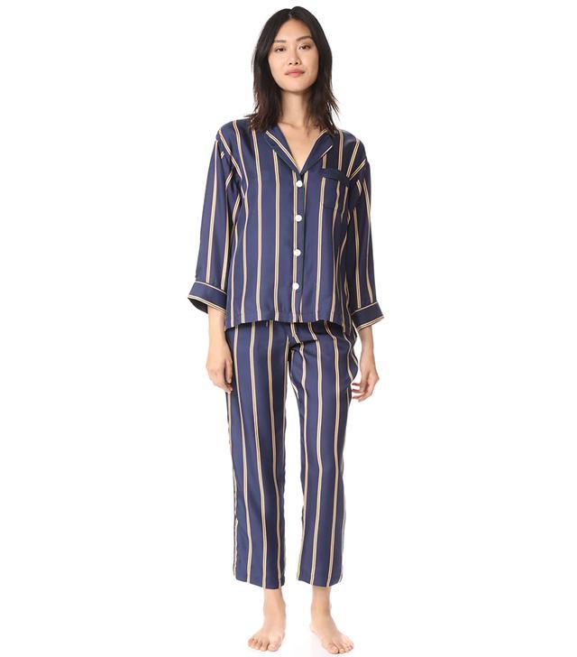 Silk Marina Pajama Shirt
