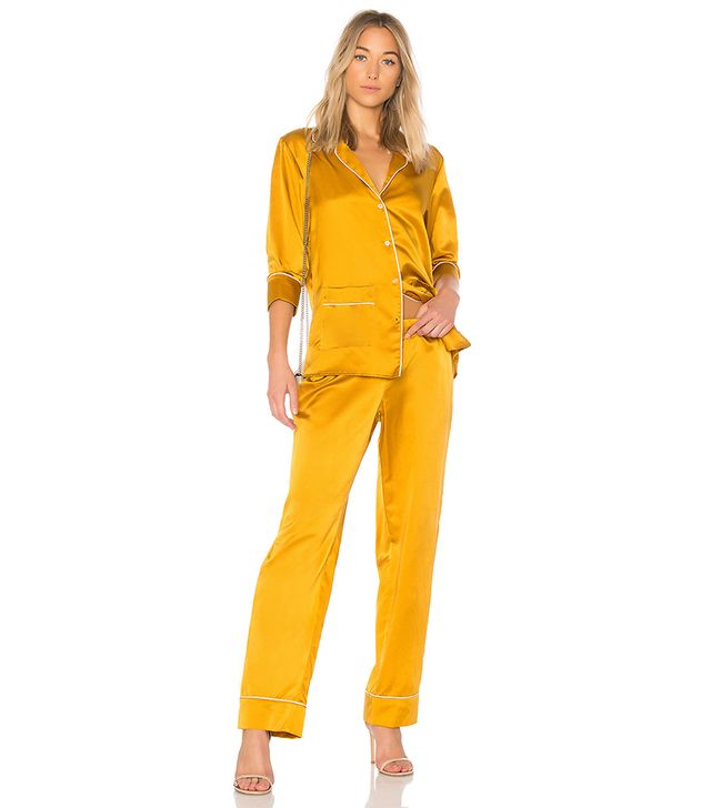 Alexandra Pant in Mustard. - size L (also in S,XS)