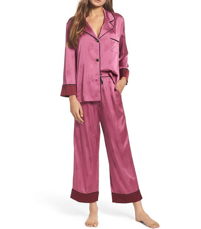 Women's Bed To Brunch Crop Pajamas