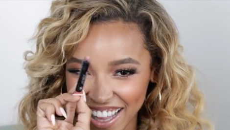 Watch: Tinashe Swears By This $8 Hair Cream to Smooth Down Flyaways