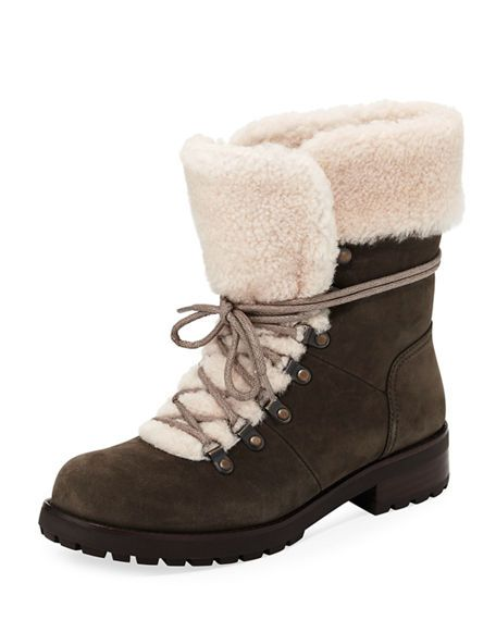 Women's Ugg Fraser Genuine Shearling Water Resistant Boot