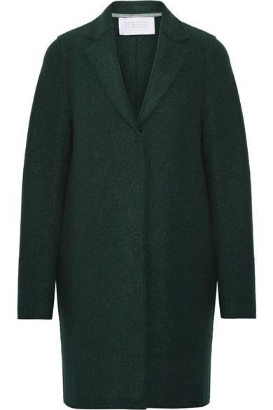 Cocoon Wool-felt Coat