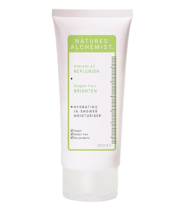 Vegan beauty brands: Nature's Alchemist Hydrating In-Shower Moisturiser