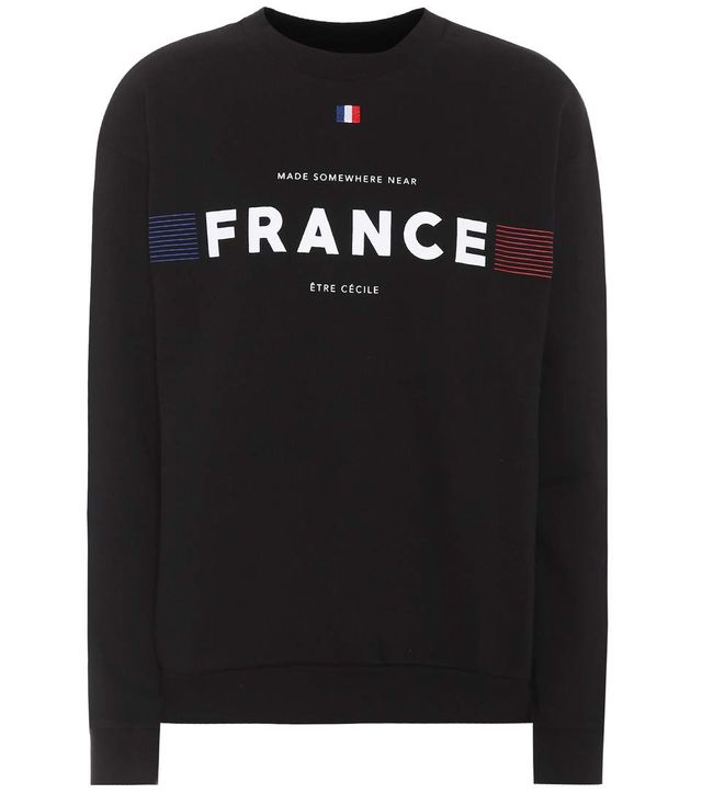 France cotton sweatshirt