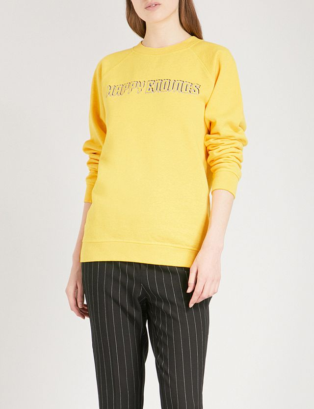 Happy Endings cotton-jersey sweatshirt