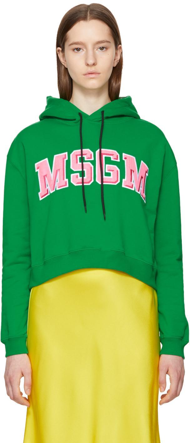 MSGM College Logo Hoodie
