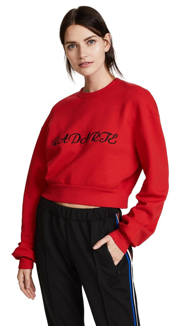 Radarte Los Angeles Cropped Sweatshirt