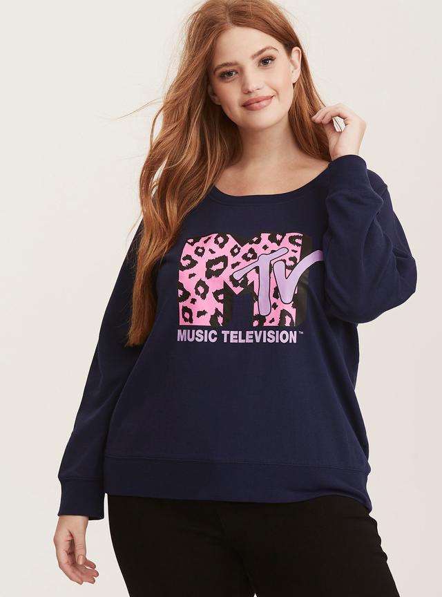 Torrid MTV Logo Sweatshirt