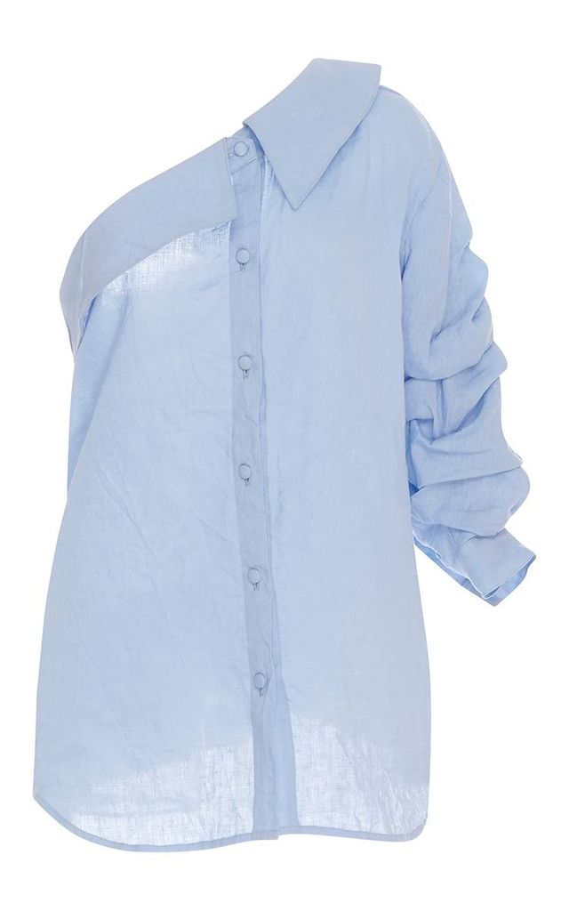M'O Exclusive Malibu One Shoulder Shirt